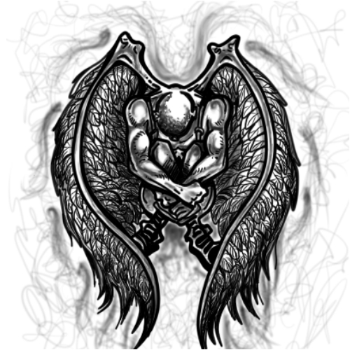 Wzór Tatuażu Anioł Monika Wypożyczalnia Sprzętu